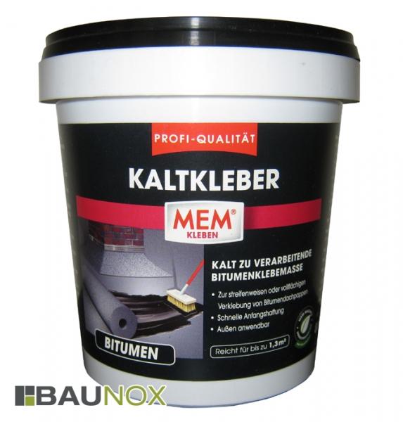 MEM PROFI-KALTKLEBER - Kalt zur verarbeitendende Bitumenklebemasse - 800g