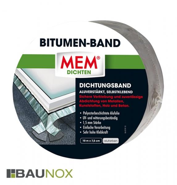 MEM BITUMEN-BAND - Dichtungsband 7,5cm x 10m