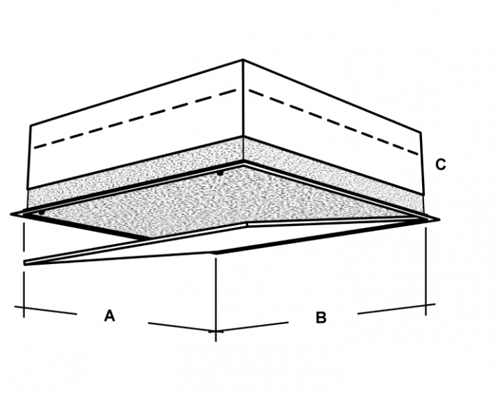 isoferma revisionst r decke revisionsklappen und t ren wand boden. Black Bedroom Furniture Sets. Home Design Ideas