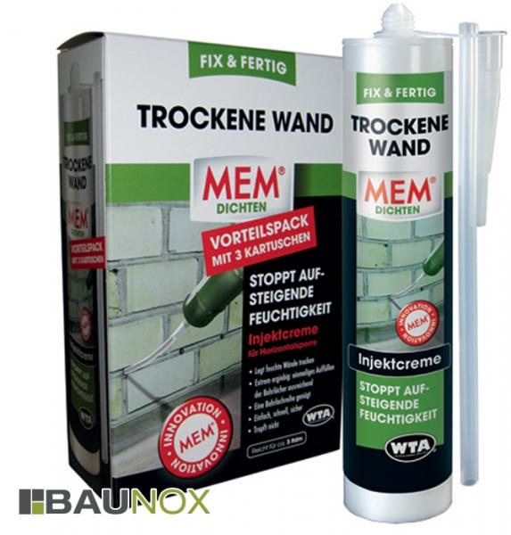 MEM TROCKENE WAND FIX & FERTIG SET - Injektcreme