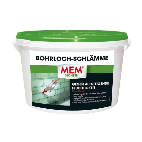 MEM Bohrlochschlämme - gegen Feuchtigkeit