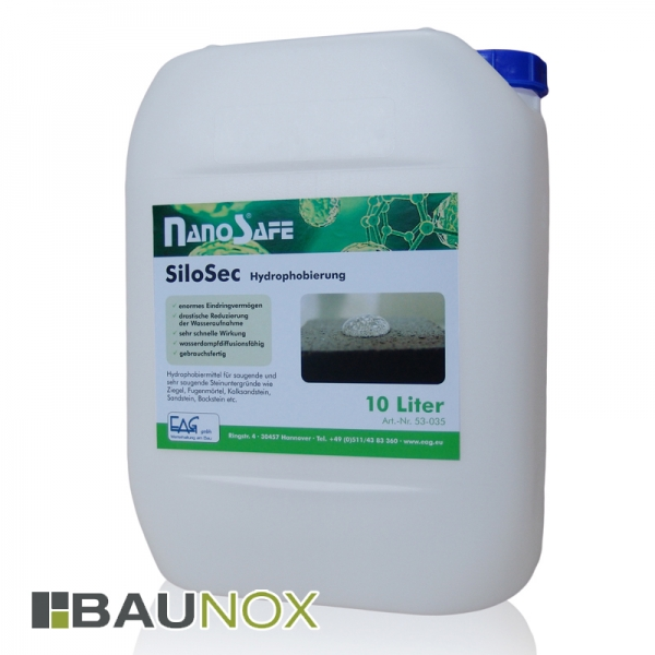 EAG NanoSafe® SiloSec - Hydrophobierung für Natursteine und poröse Steinuntergründe