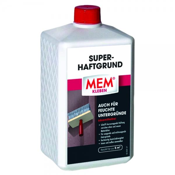 MEM SUPER-HAFTGRUND - Haftvermittler zwischen alten und neuen Materialien - 1 Liter