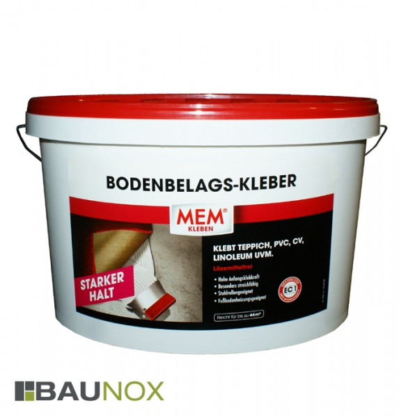 MEM BODENBELAGS-KLEBER - Der Teppichkleber mit starkem Halt