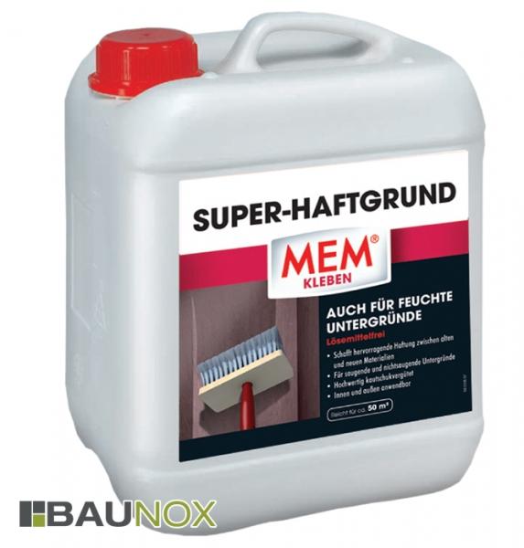 MEM SUPER-HAFTGRUND - Haftvermittler zwischen alten und neuen Materialien - 10 Liter