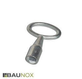 Vierkant-Dornschlüssel für Revisionstüren - Stahl