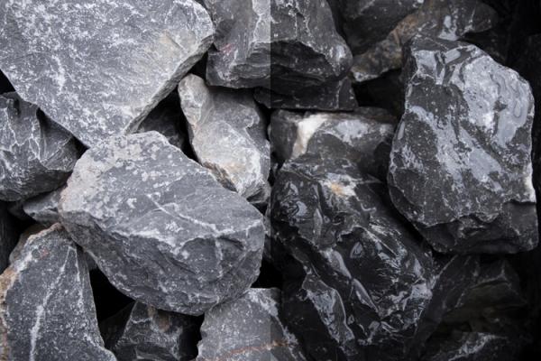 Vosges Vogesen Steinschlag 32-56 mm - für grosse Flächen, schmale Gabionenzäune oder zur Bedeckung von Beetanlagenn