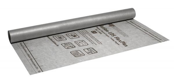 Knauf Insulation FlexPlus - Feuchtevariable Dampfbremsbahn für Dachkonstruktionen mit Blech