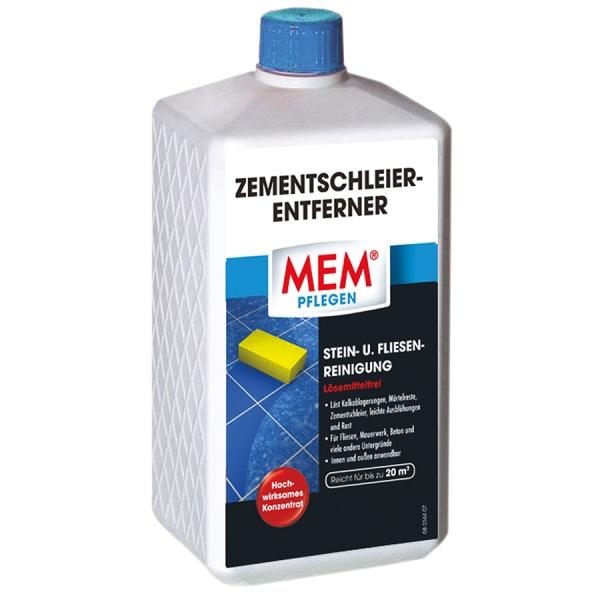 MEM ZEMENTSCHLEIER-ENTFERNER gegen Mörtelreste, Rost und Zementschleier auf versch. Untergründen