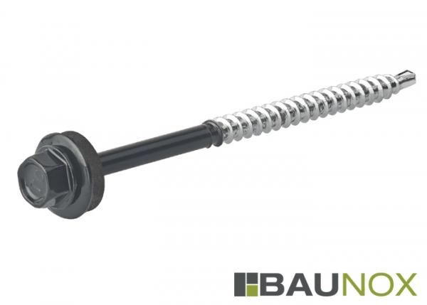 Trapezblechschrauben 4,8 x 60 mm - RAL9005