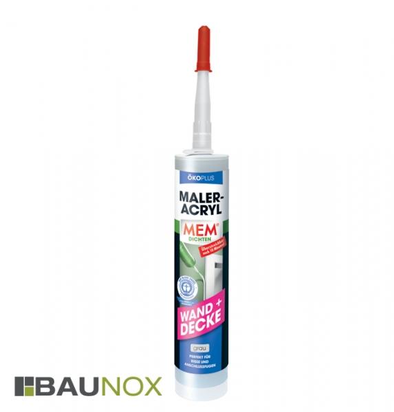 MEM MALER-ACRYL ÖKOPLUS 300 ml grau für die bewusste Anwendung bei Renovierungsarbeiten