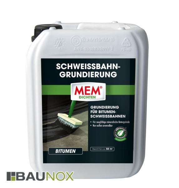 MEM SCHWEISSBAHN-GRUNDIERUNG für Bitumen-Schweissbahnen