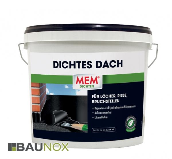 MEM DICHTES DACH für Löcher, Risse und Bruchstellen im Aussenbereich - 5kg