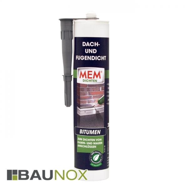 MEM DACH- UND FUGENDICHT lmf - der perfekte Bitumendichtstoff für Fugen und Nahtstellen
