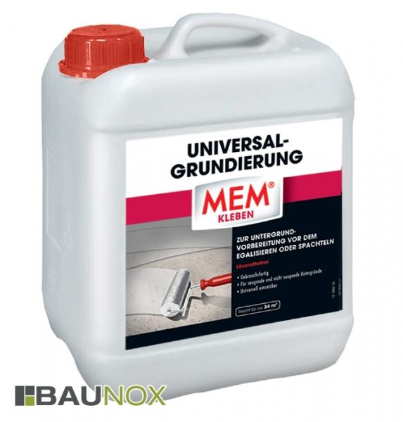 MEM UNIVERSAL-GRUNDIERUNG - Universell einsetzbare Untergrundvorbereitung - 5 Liter