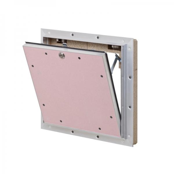 AluProtect® Safe F/EI30 Revisionsklappe für Montage in Schachtwandsysteme / Installationsschachtwände