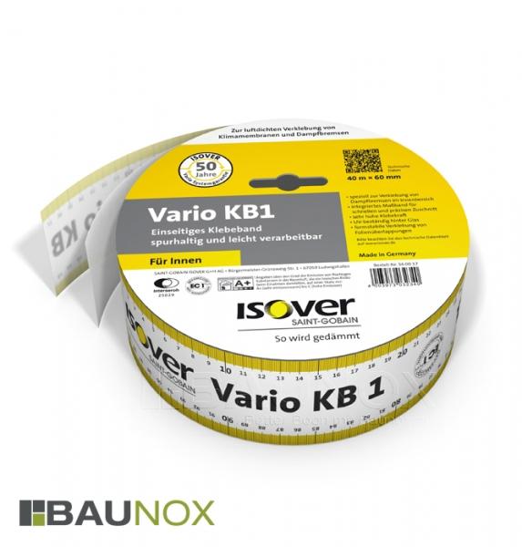 Isover Vario KB1 - einseitig klebendes Klebeband für Überlappungen im Innenbereich