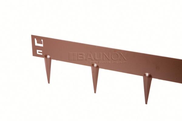 Ever Edge - Flexible elegante Randbegrenzung aus Stahl für Rasen und Kiese