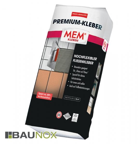 Mem Premium Kleber Hochflexibler Fliesenkleber Baunox De
