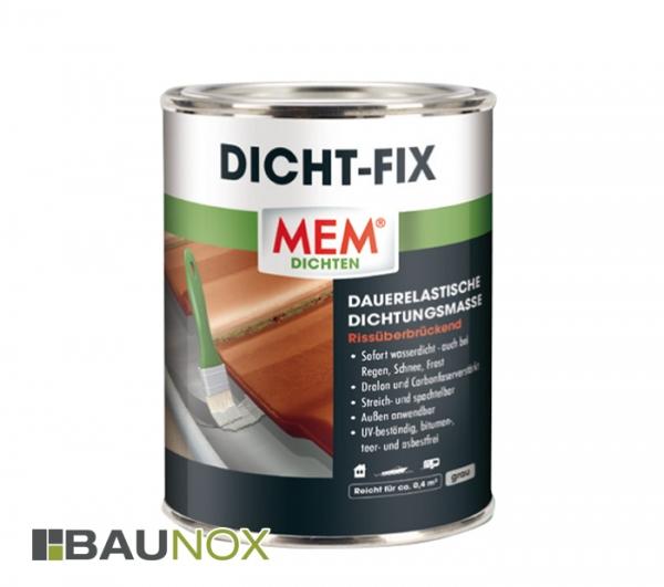MEM Dicht-Fix Dichtungsmasse ist sofort wasserdicht und dauerelastisch - 750ml
