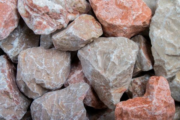 Alazana Arizona Steinschlag 45-60 mm - für grosse Flächen, schmale Gabionenzäune oder zur Bedeckung von Beetanlagenn