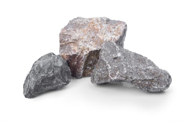 Muschelkalk Gabionenstein 60-120 mm - für Gabionenzäune-/Körbe oder Säulen