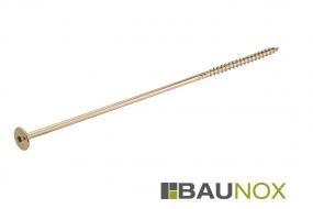 Baunox Pro - Tellerkopfschraube TX - gelb verzinkt