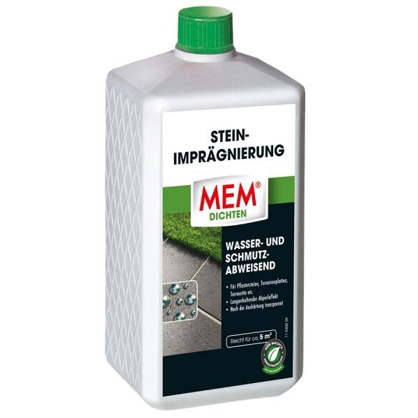 MEM STEIN-IMPRÄGNIERUNG ist wasser- und schmutzabweisend - 1 Liter