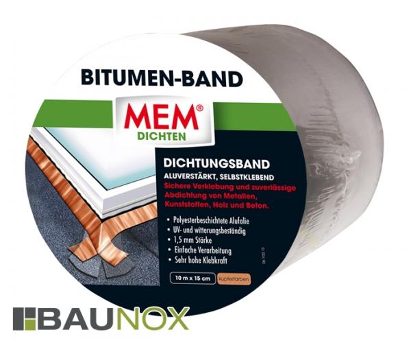 MEM BITUMEN-BAND - Dichtungsband 15cm x 10m