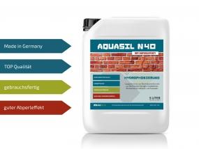 Baunox AQUASIL N40 - Fassadenschutz - 5 Liter