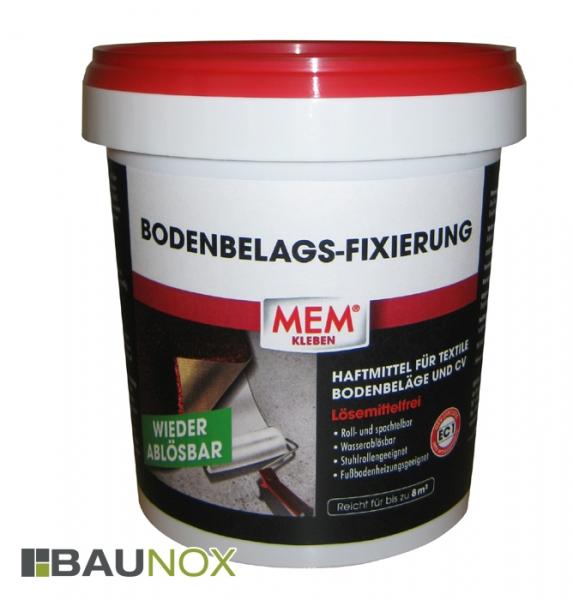MEM BODENBELAGS-FIXIERUNG 800g ist das Haftmittel für textile Bodenbeläge
