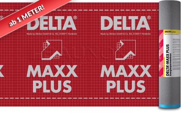 DÖRKEN DELTA®-MAXX PLUS - Energiesparmembran - ab 1 Meter