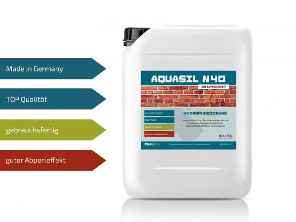 Baunox AQUASIL N40 - Tiefenimprägnierung für Beton