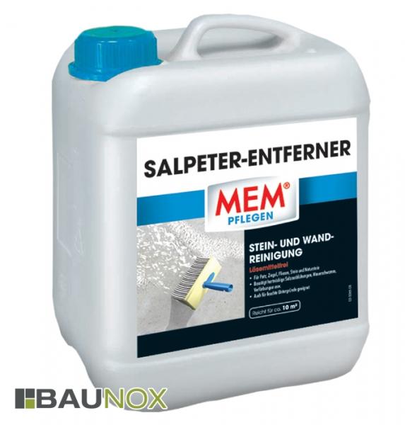 MEM SALPETER-ENTFERNER - Die Stein- und Wandreinigung vorn ungebetenen Gästen - 5 Liter