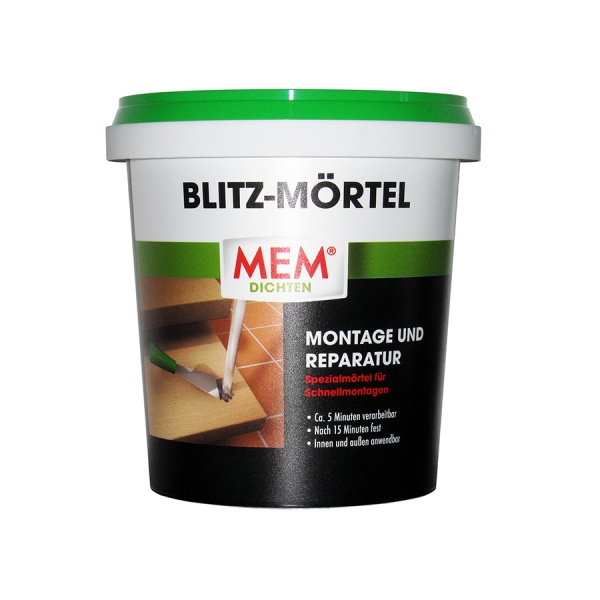 MEM Blitz-Mörtel - Montage und Reparatur Mörtel